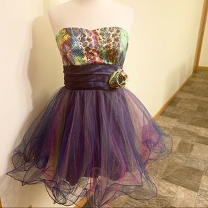 "SO cute! ""Teeze Me"" party Dress—colorful and fun"